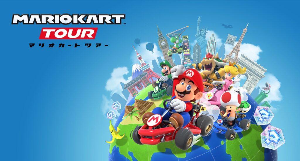 大人気シリーズがスマホで遊べる!「マリオカートツアー」でアイテムレーシング!