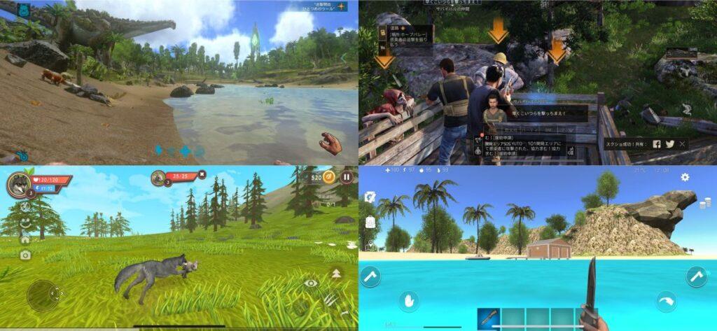 スマホゲームのおすすめ無人島サバイバル作品5選!【ゾンビや恐竜が多数登場!】