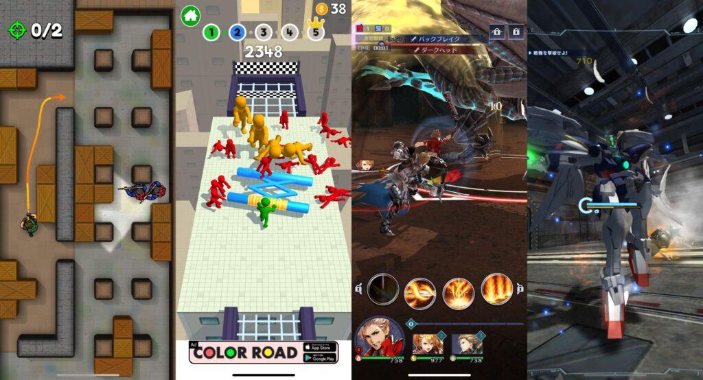 アクションRPGでおすすめのスマホゲームはどれ?【片手で遊べる縦画面限定!】